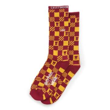 Vans X Harry Potter Gryffindor Crew Socks 6.5-9