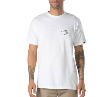 Stacked Rubber Short-Sleeve Tee
