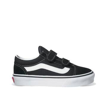 Kids Old Skool Velcro Black/White