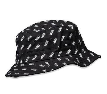 UNDERTONE RETRO BUCKET HAT BLACK