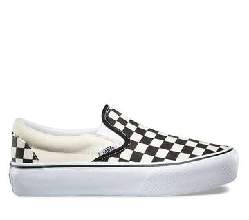 Classic Slip-On Checkerboard Platform