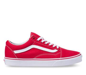 Old Skool Canvas Formula One Red