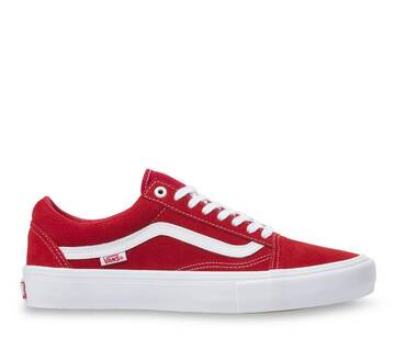 OLD SKOOL PRO SUEDE RED