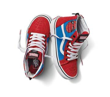 Vans x Marvel Spiderman Sk8-Hi Zip Kids