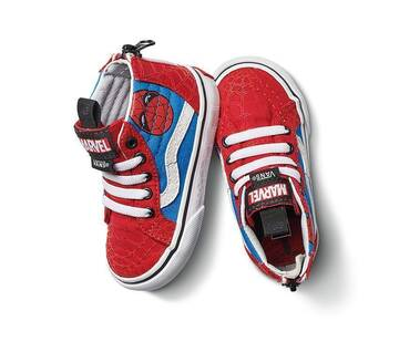 Vans x Marvel Spiderman Sk8-Hi Zip Toddler