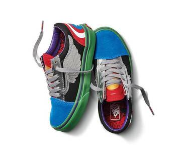 Vans x Marvel Avengers Old Skool Kids