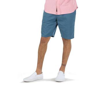 "Authentic 20"" Teal Stretch Short"