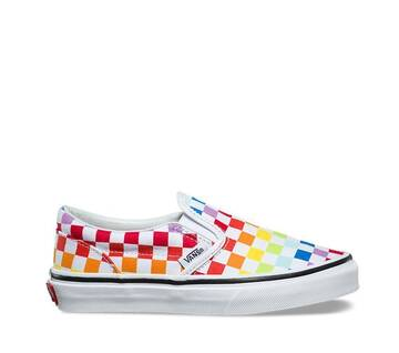 Kids Rainbow Classic Slip-On