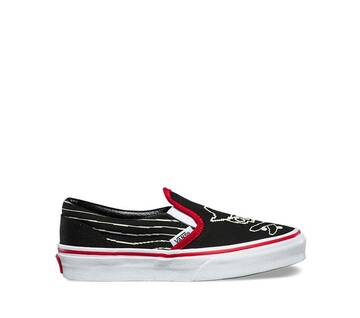 Kids Pixel Pirate Classic Slip-On
