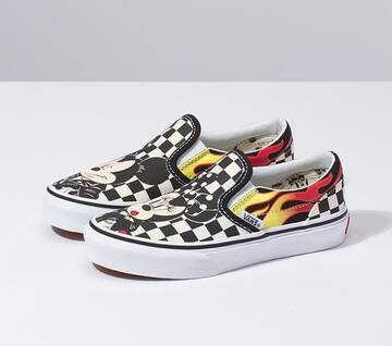Disney X Vans Kids Mickey & Minnie Slip-On