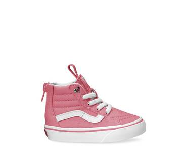 Sk8-Hi Toddler Zip Heart Eyelet Strawberry