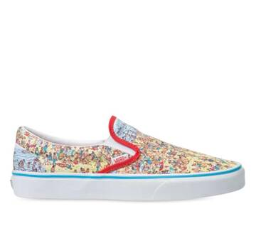 Vans X Where's Waldo Classic Slip-On