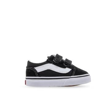 Toddler Old Skool Velcro Canvas Black/White