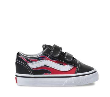 Toddler Old Skool Velcro Flame
