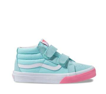 Kids Sk8-Mid Velcro Reissue Colour Block