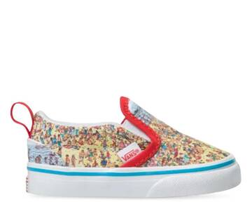 Vans X Where's Waldo Toddler Slip-On