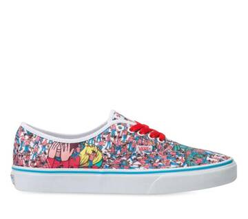 Vans X Where's Waldo Authentic