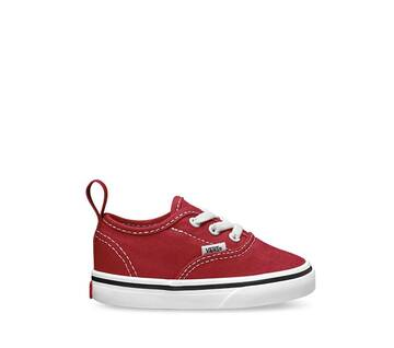 Toddler Authentic Elastic Lace Red/White