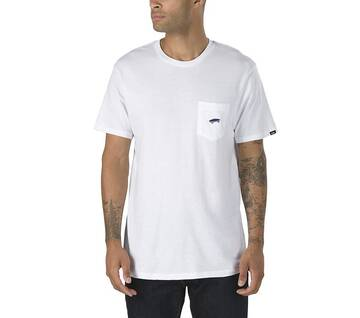 Everyday White Pocket Short Sleeve Tee 2