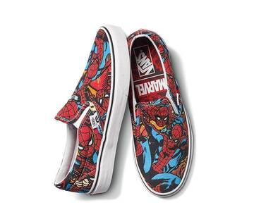 Vans x Marvel Spiderman Classic Slip On
