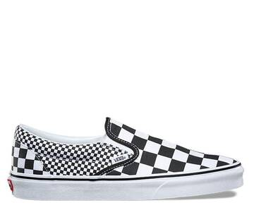Classic Slip On Mix Checker