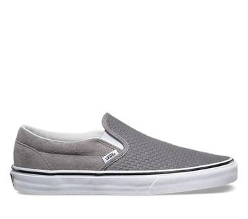 Classic Slip-On Embossed Suede