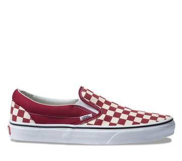 Slip On Checkerboard Rumba Red/White