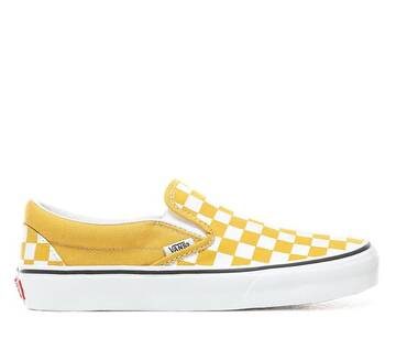 Slip On Checkerboard Yellow/White