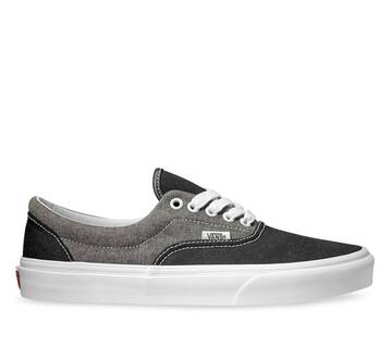 Era Chmbray Canvas Black/White