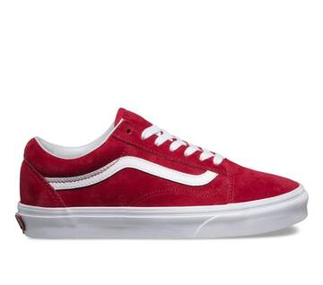 Old Skool Suede Scooter Red/White