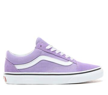 Old Skool Violet/White