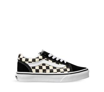 YOUTH OLD SKOOL PRIMARY CHECK BLACK