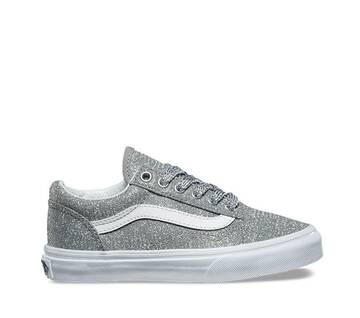 Kids Old Skool Lurex Glitter