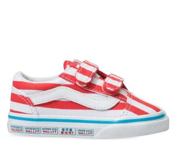 Vans X Where's Waldo Toddler Old Skool
