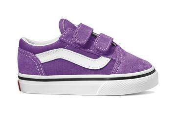 TODDLER OLD SKOOL VELCRO DEWBERRY/WHITE