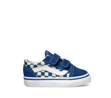 Toddler Primary Check Old Skool Velcro