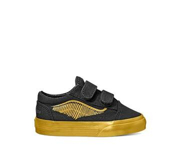 Vans X Harry  Potter Toddler Old Skool Golden Snitch