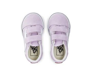 TODDLER OLD SKOOL VELCRO LILAC SNOW