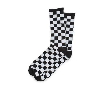 Checkerboard 2 Black/White Crew Socks