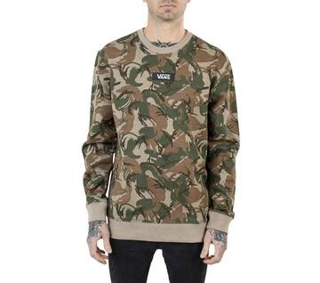 Drop V Box Camo Long Sleeve Crewneck Jumper