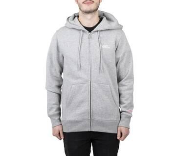 Small Logo Grey Zip-Up Hoodie 2