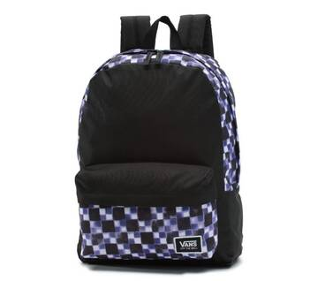 Realm Classic Purple Checkerboard Backpack