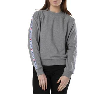 My Vans Grey Heather Long Sleeve Crew Neck Jumper
