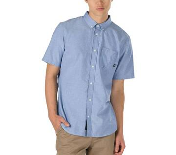 Gibbon Short-Sleeve Button Down Shirt