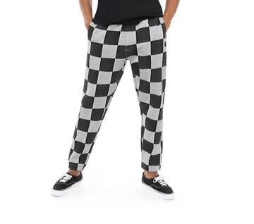 Checker Jacquald Black/Grey Track Pants