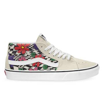 Sk8-Mid Floral Check