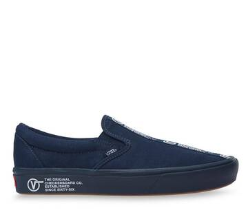 COMFYCUSH SLIP-ON DISTORT  BLUE