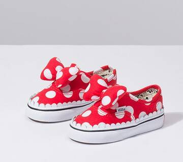Disney X Vans Toddler Minnie's Bow Authentic