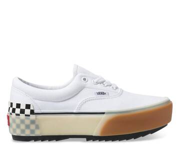ERA STACKED WHITE CHECK