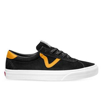 VANS SPORT BLACK CADMIUM YELLOW